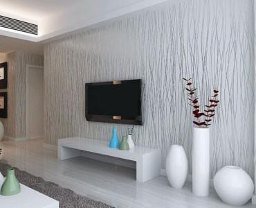 Papel de parede ideal para a parede da televisão